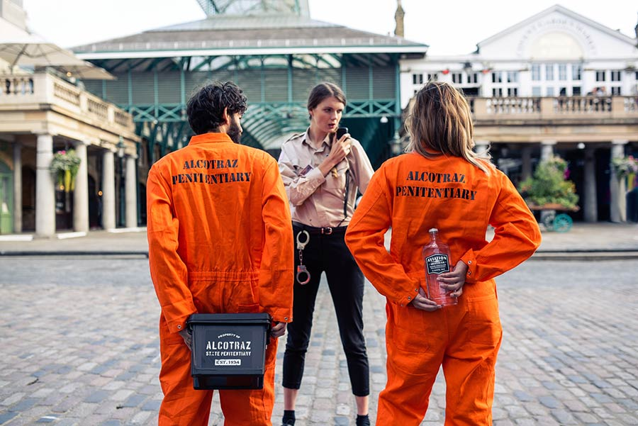 Alcotraz is bringing its prison-themed cocktail bar to Covent Garden