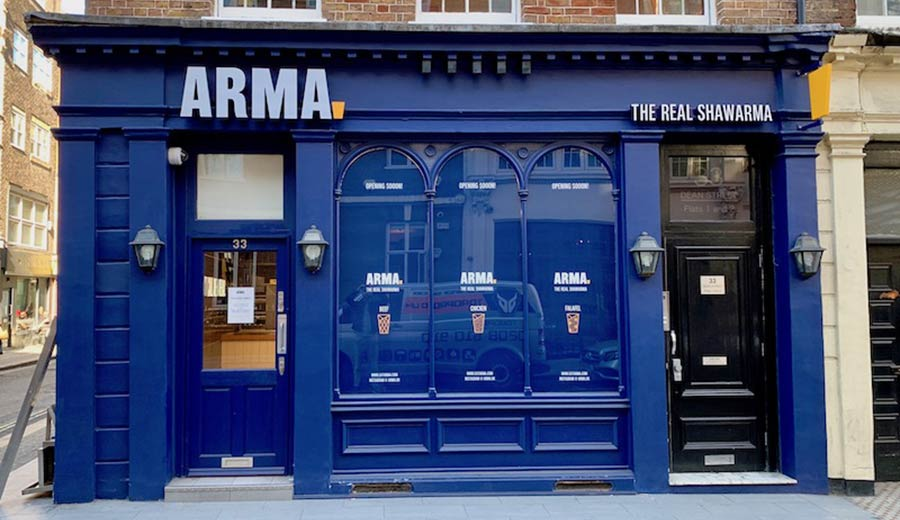 Arma arrives in Soho with authentic Middle-Eastern shwarma
