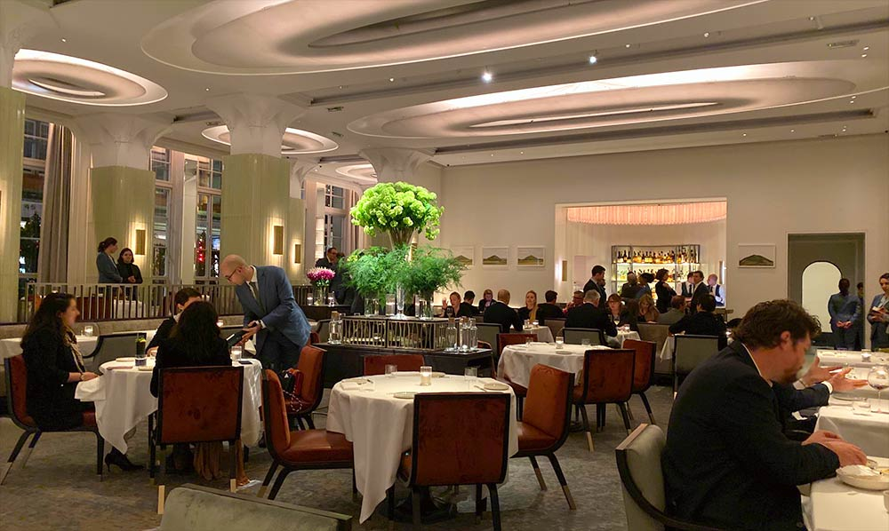 Davies and brook restaurant review london claridges