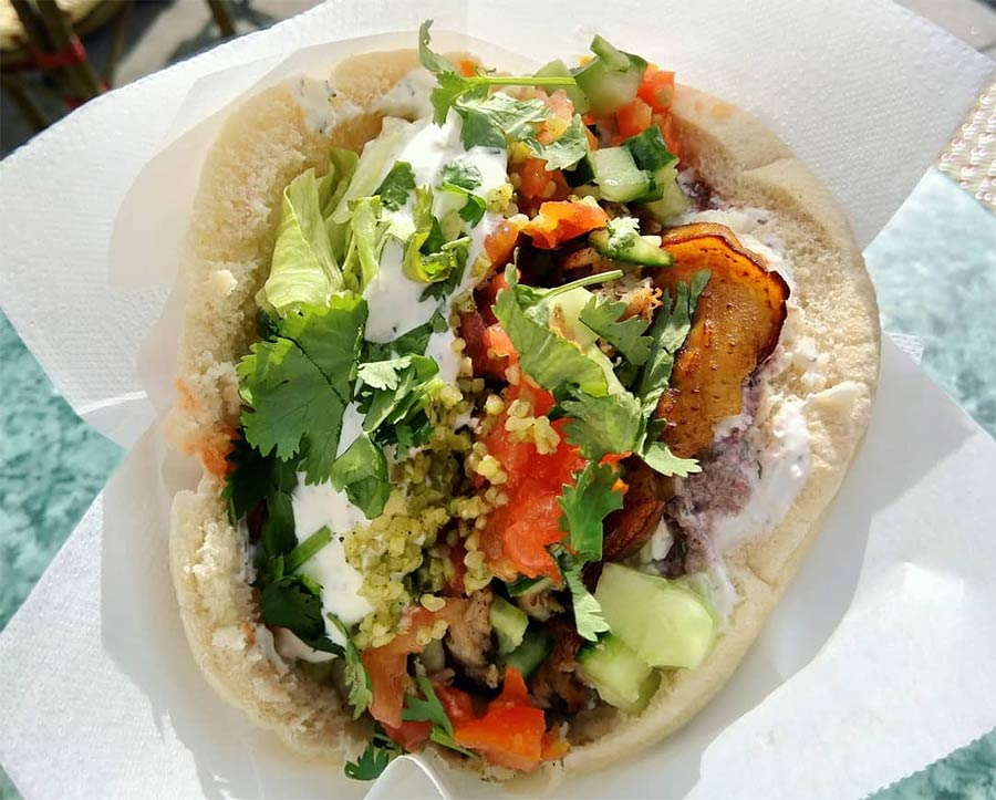 Finland's Fafa's will be serving up filled pitas in Covent Garden