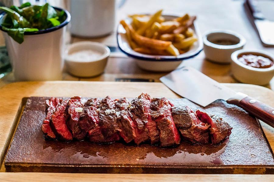 Flat Iron bring their steaks to Spitalfields