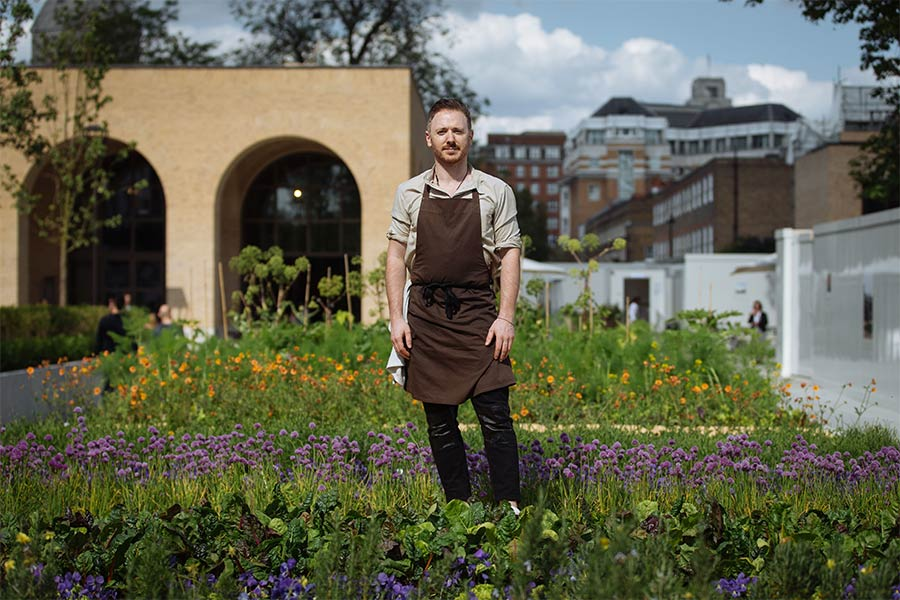 Hideaway is the latest pop-up from Ollie Dabbous at Chelsea Barracks