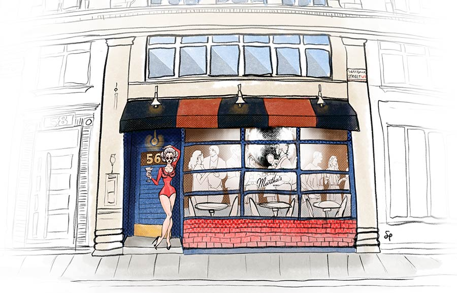 Martha's is bringing American food, jazz and drag to Soho