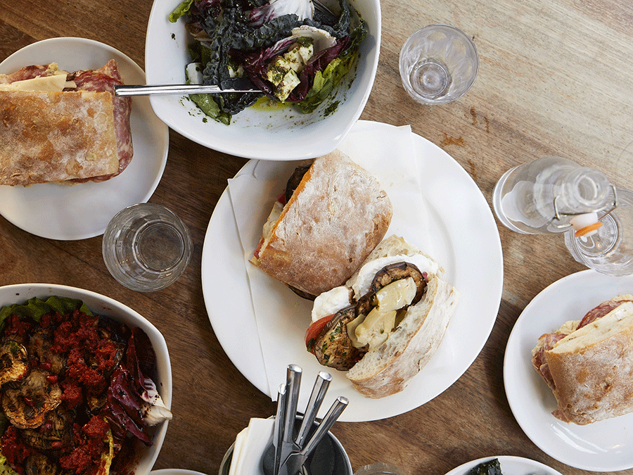 Mele e Pere launches The Deli Upstairs with sandwiches, salads and more