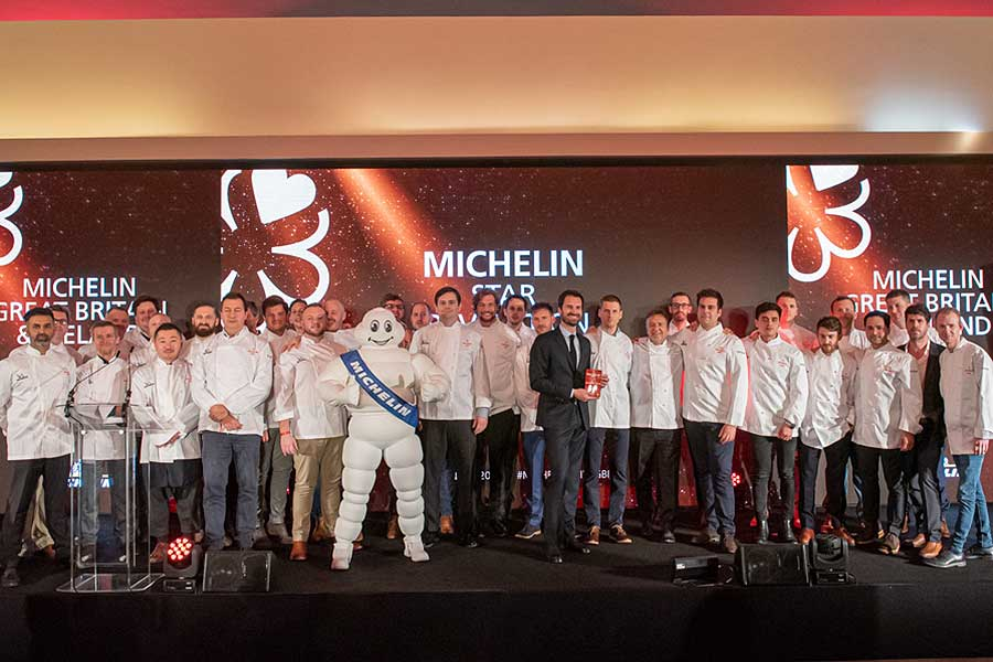 michelin guide 2020 stars for London restaurants