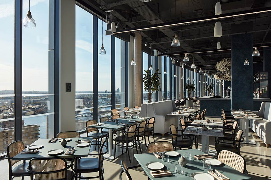 Canary Wharf Hot Dinners