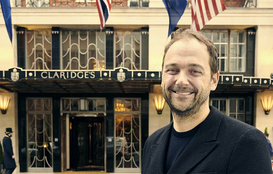 Eleven Madison Park's Daniel Humm is taking over at Claridge's with Davies and Brook