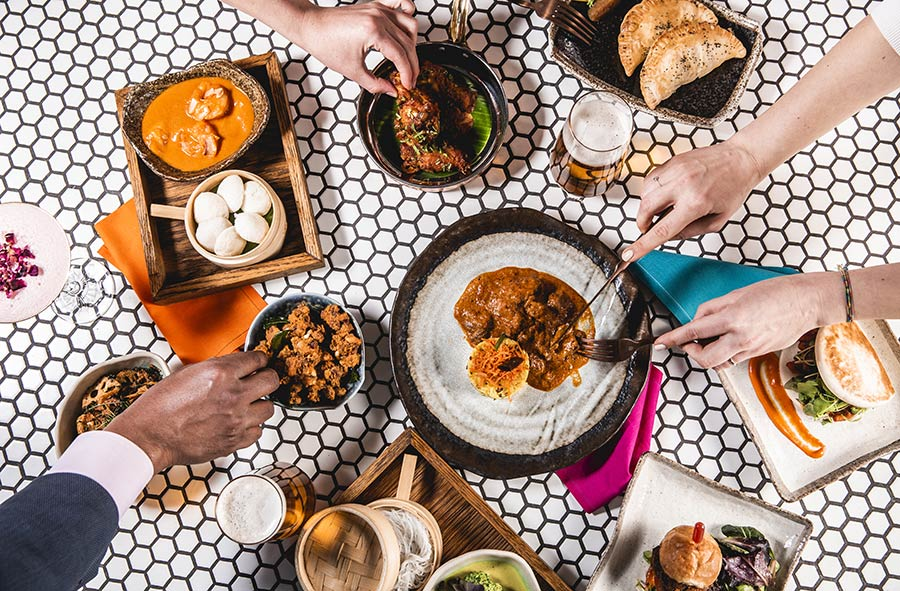 Ooty Station is a casual Indian cafe in Marylebone
