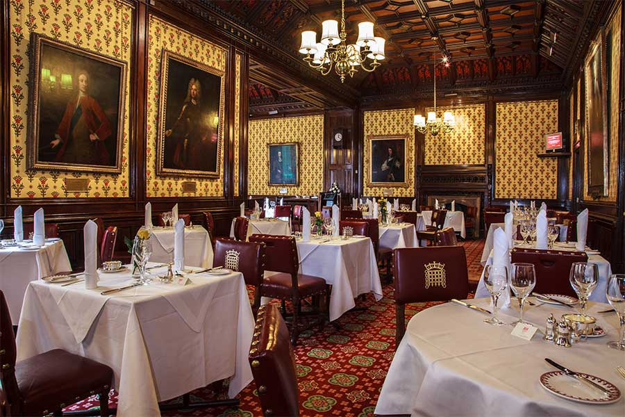 how to eat at the house of lords dining room