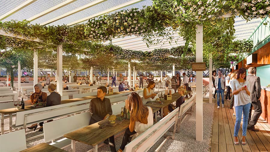 Pergola Paddington Returns for 2019 with a Smash Patty from Patty and Bun