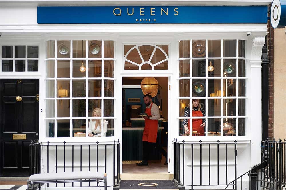 queens coffee house mayfair