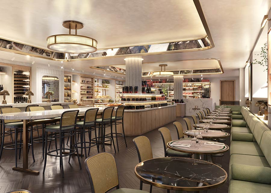 Le Deli Robuchon and Le Comptoir Robuchon are opening in Mayfair