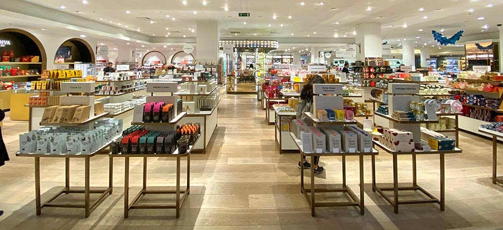 Selfridges launches its huge new confectionary hall