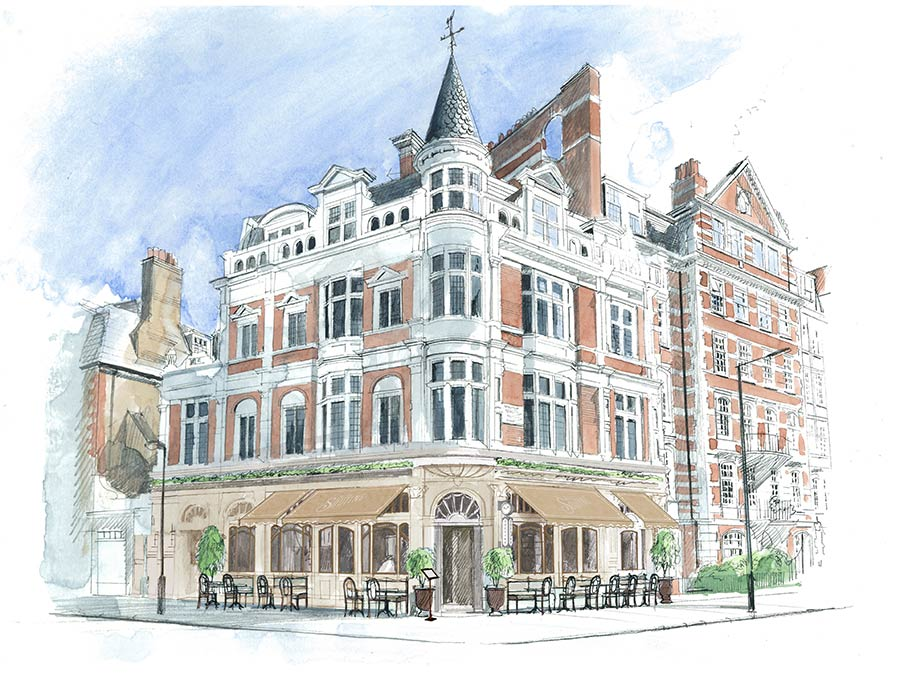 The Wolseley team are opening Soutine in St John's Wood