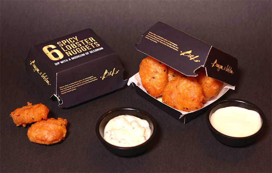 Burger and Lobster unveil their own spicy lobster nuggets