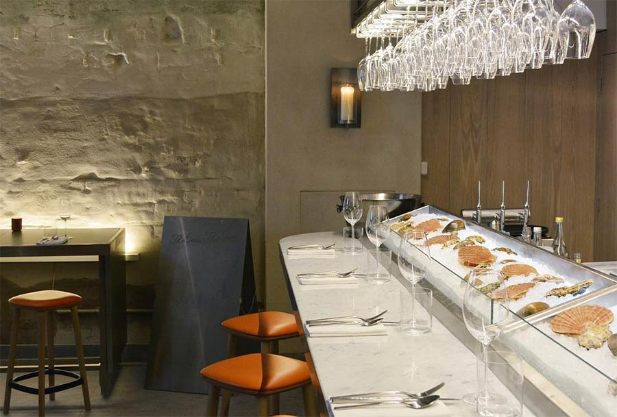 The Sea, The Sea in Chelsea is fishmonger by day, seafood and Champagne bar by night