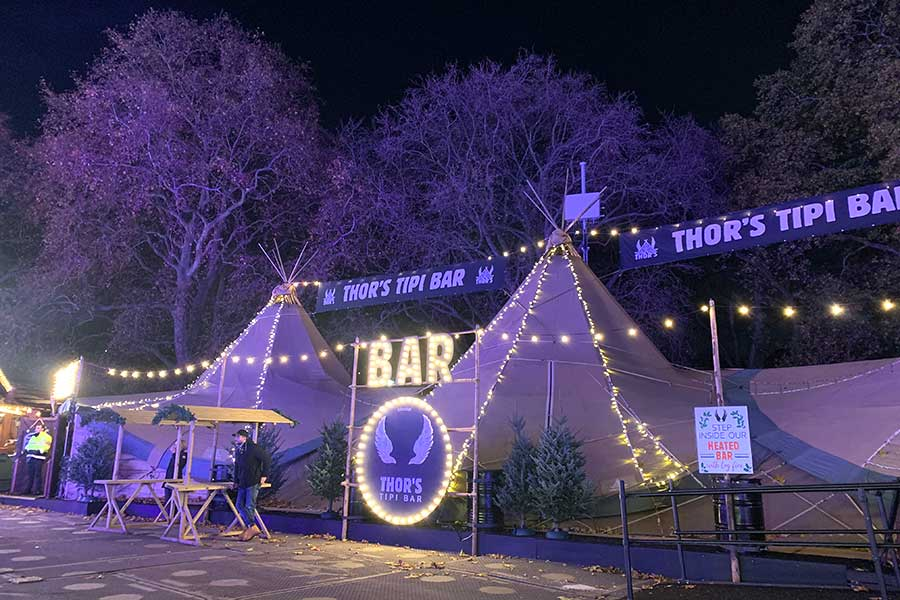 where to eat at hyde park winter wonderland 2019