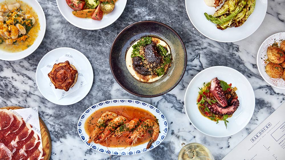 Bar Douro is delivering Portuguese food to London