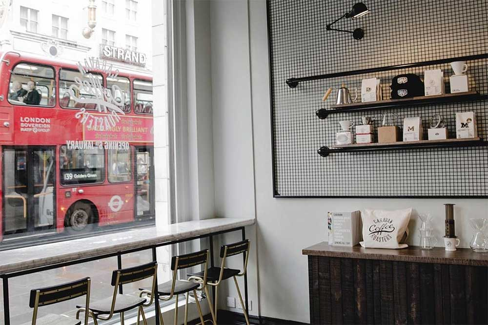caravan cafe opens at the savoy on the strand