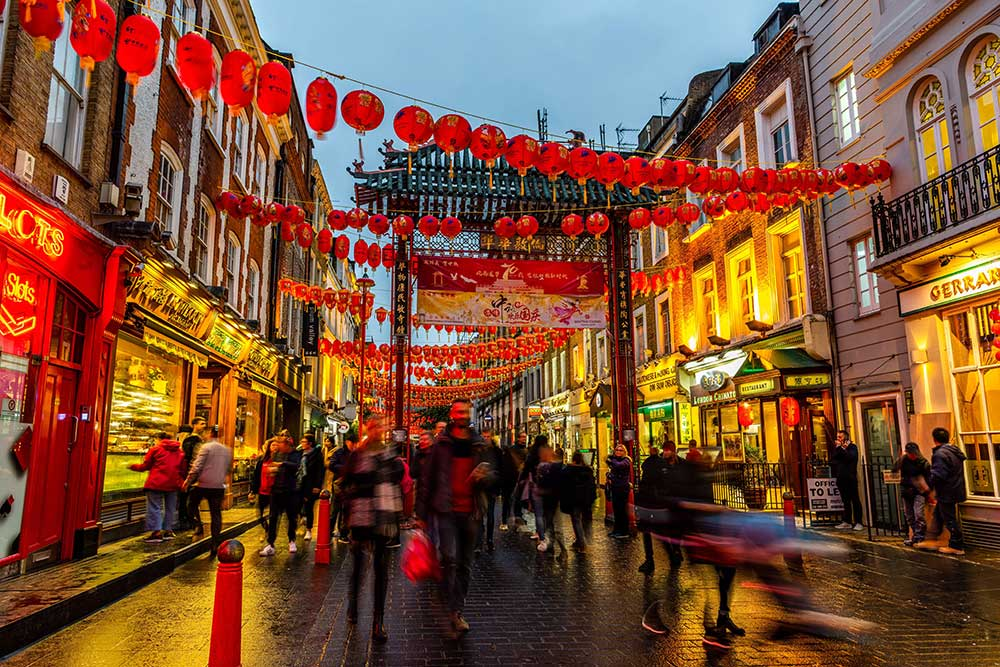London's chinatown campaign during lockdown