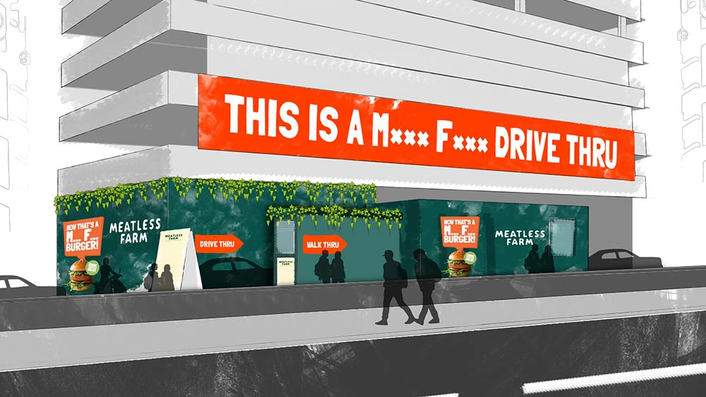 A plant-based drive-thru restaurant is coming to Shoreditch