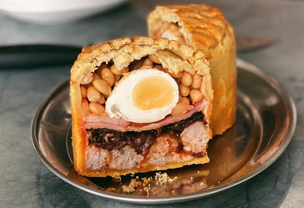 Eggbreak have stuffed an entire Full English into a pie
