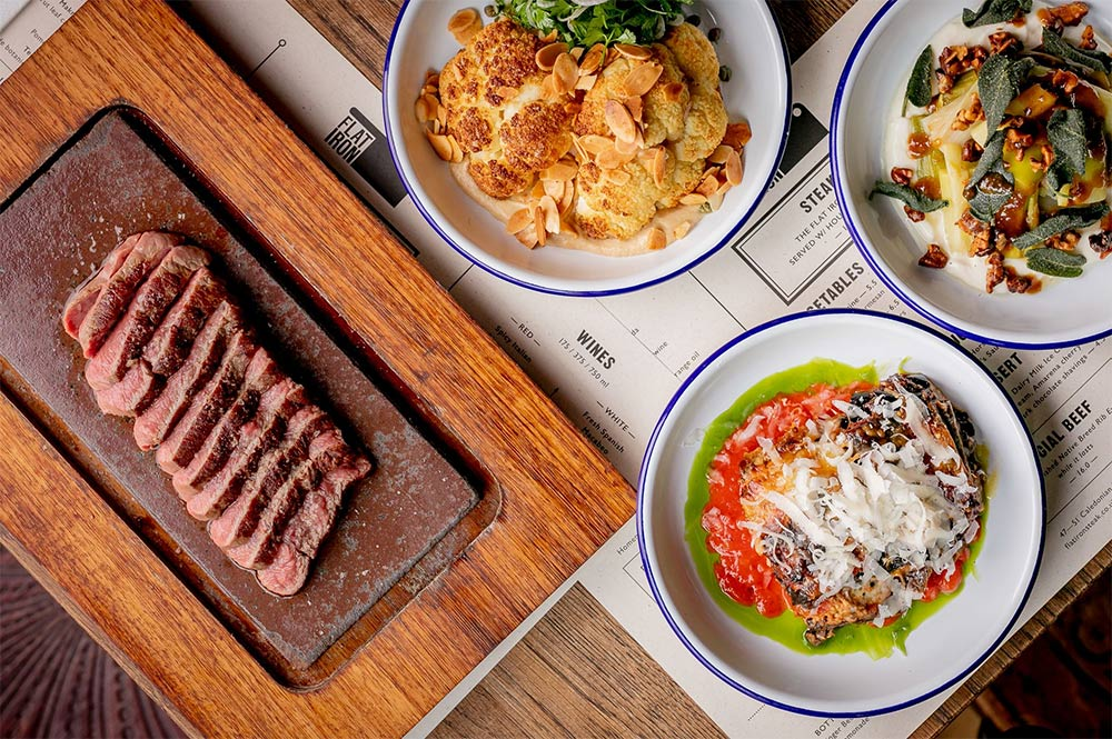 Flat Iron Marylebone is next up for the steak restaurant