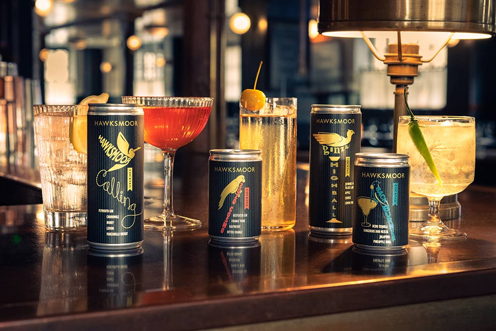 Hawksmoor reveal a new cocktail range for delivery - Fuller Fat old Fashioned included