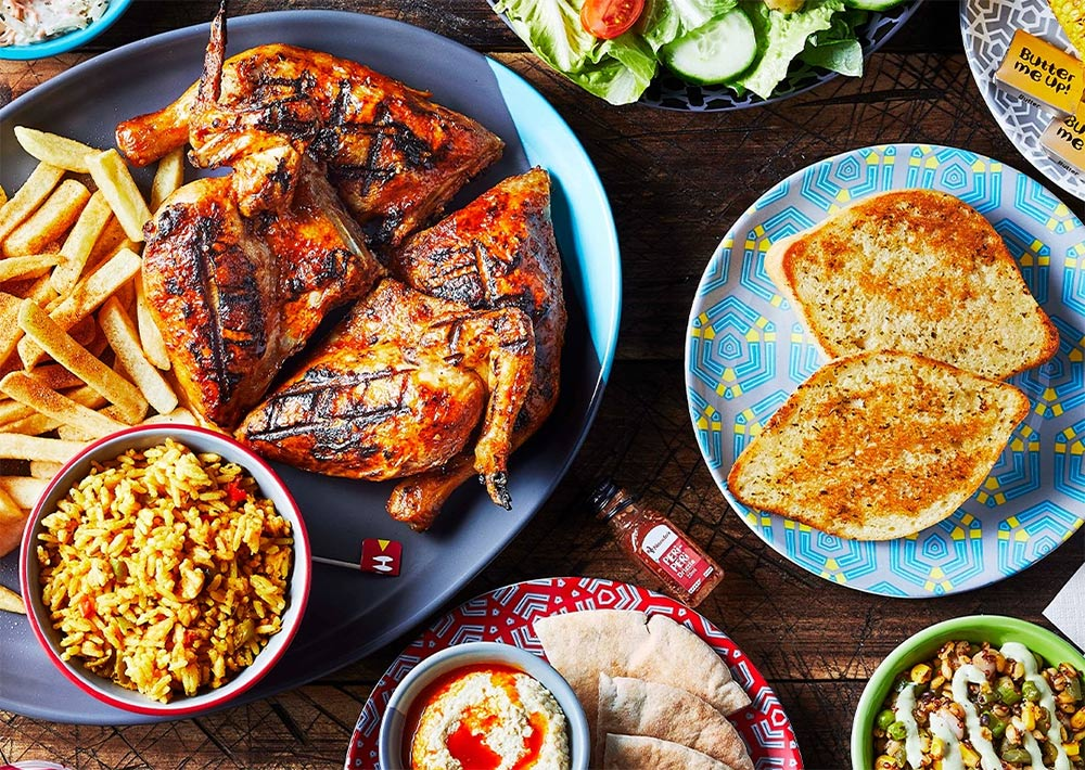 Nando's are back in London! Four restaurants across the capital start delivering