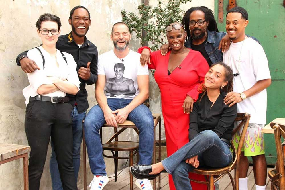 One love pop up andi oliver and fred siriex