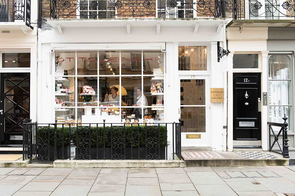 ottolenghi wine shop pop up belgravia