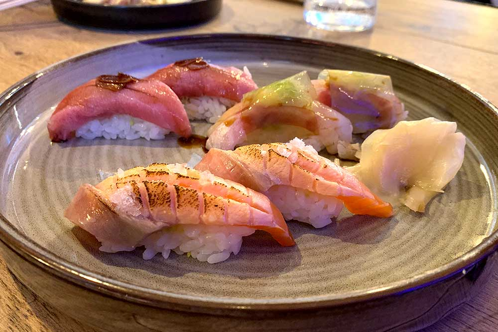Shaun Presland's Pacific restaurant review London