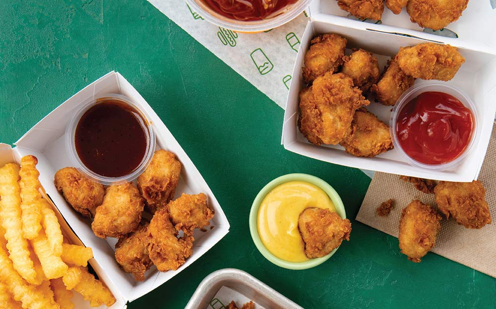Shake Shack are bringing their Chick'n Bites to the table