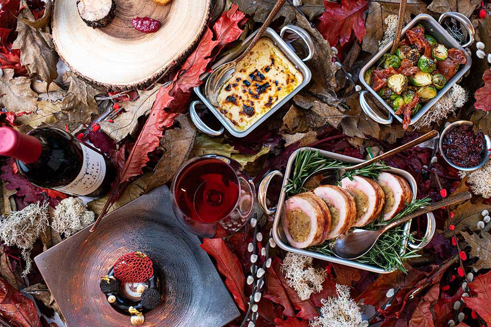 Enjoy a VERY luxurious Thanksgiving with SOLA