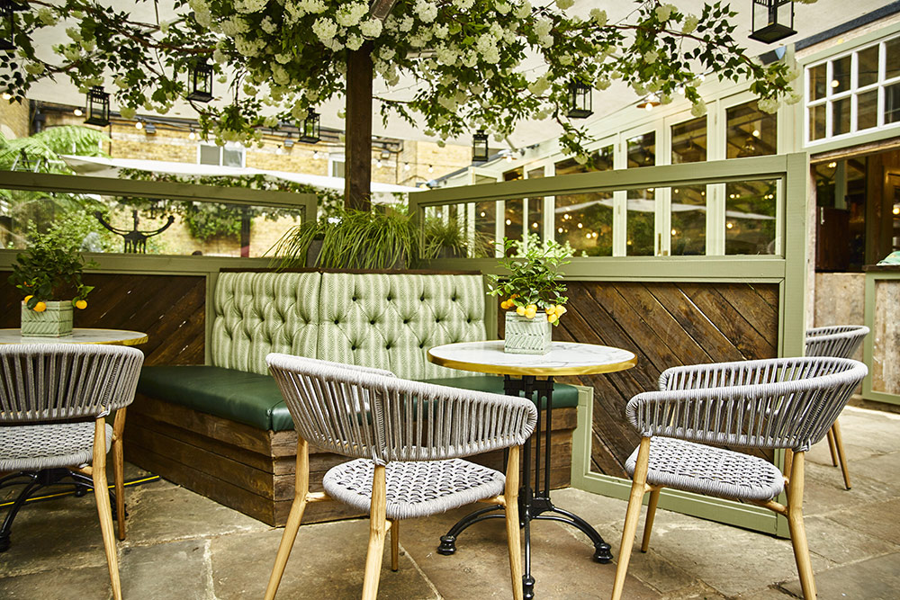 Stanley's restaurant opens in Chelsea with a huge courtyard