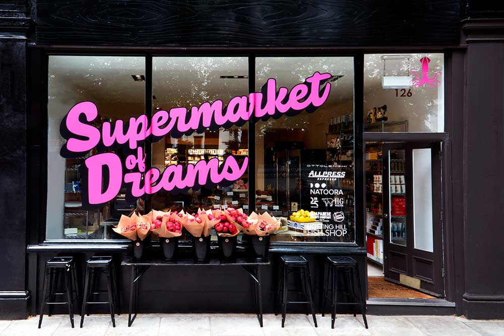 supermarket of dreams notting hill