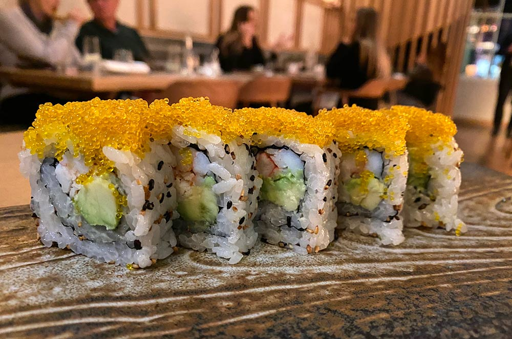 taka marylebone california rolls