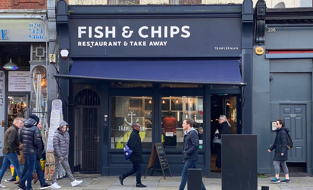 Fish & Chips returns to Upper St Islington with Trawlerman's Fish Bar