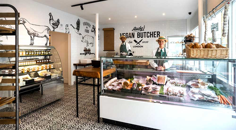 Rudy's is bringing a vegan butcher to Islington's Upper Street