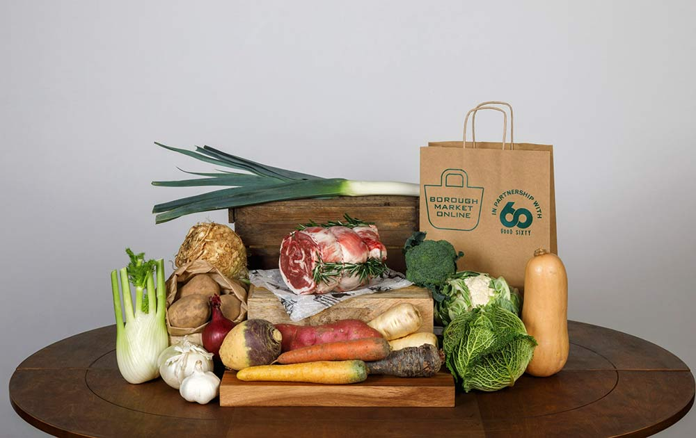 Borough Market kicks off a new range of subscription boxes, delivering across the UK