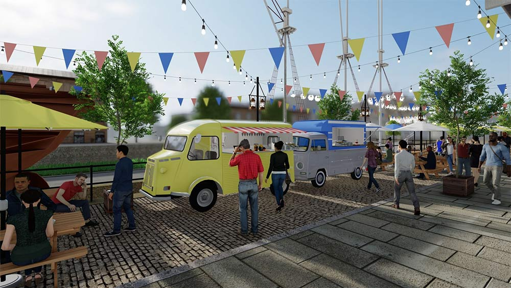 More KERB as street food comes to the National Theatre and Tobacco Dock