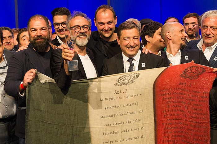 Massimo Bottura's Osteria Francescana takes the top slot at World's 50 Best 2016