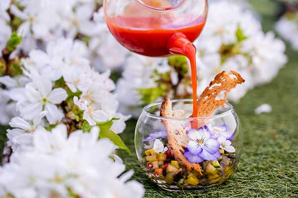 Where to eat in London for the Chelsea Flower Show