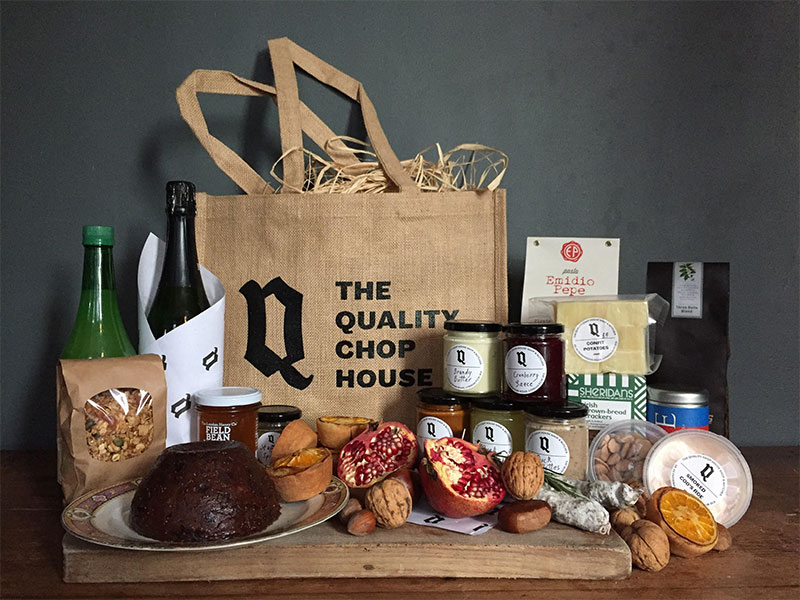 The best christmas hampers from london restaurants and shops hot quality chop house negle Image collections