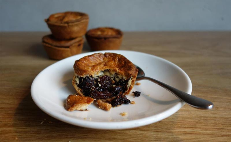 Michelin-starred mince pies at Lyle's