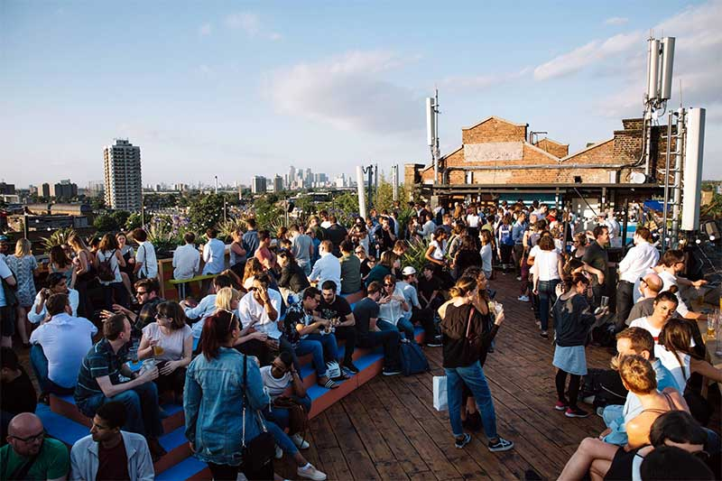 London S Best Rooftop Bars And Restaurants Hot Dinners