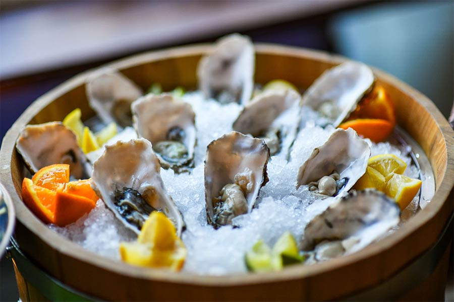 Champagne and Oysters at Montagu Kitchen