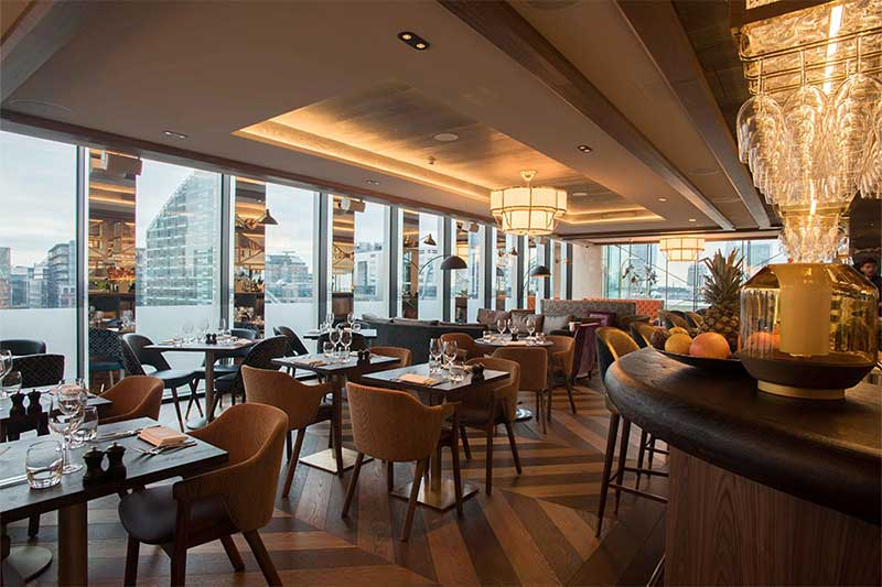 Restaurants With A View The Best High Rise Dining In
