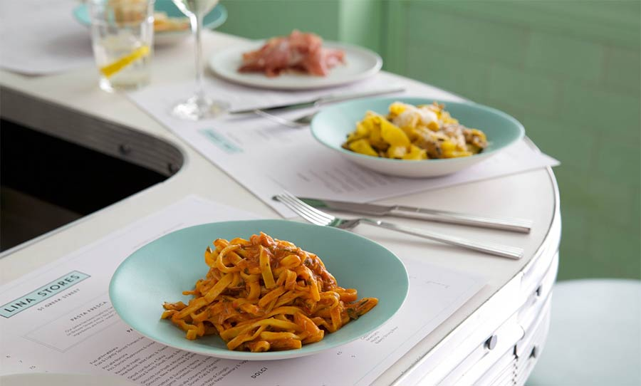 Lina Stores best pasta london