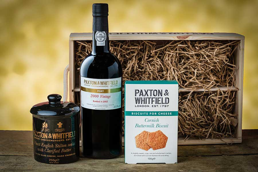 The whitfield hamper by Paxton and Whitfield